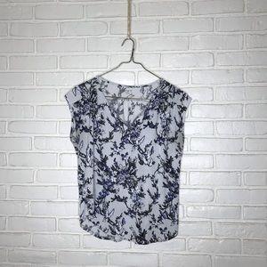 LOFT Outlet Floral Short-sleeved Shirt